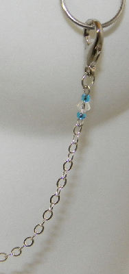 Burlesque Chain clasp and beads close-up